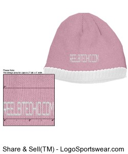 R.B.O Beanie/Hers Fleece ear liner Design Zoom