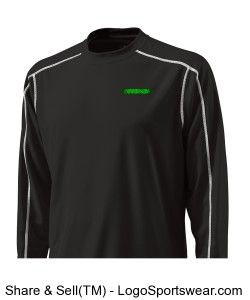 WICKING BASE LAYER LONG SLEEVE CREW T-SHIRT Design Zoom