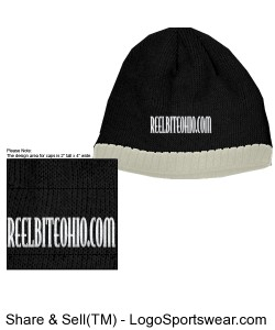 R.B.O Beanie/ Knit W/ Fleece ear liner Design Zoom